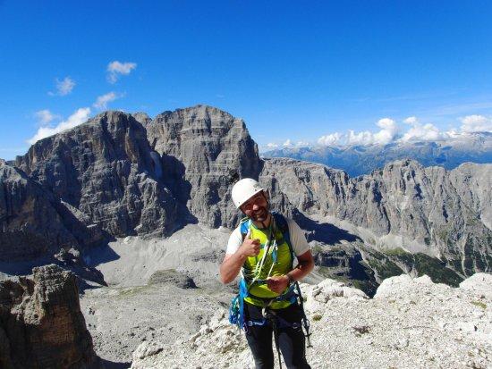 Trentino Dolomites, อิตาลี: Salita verso Cima Brenta