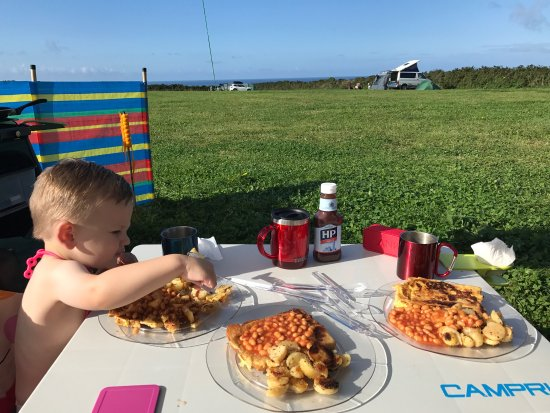 Porthleven, UK: Penrose Campsite Aug 2017