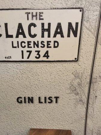 The Clachan Inn: Clachan Inn 1734