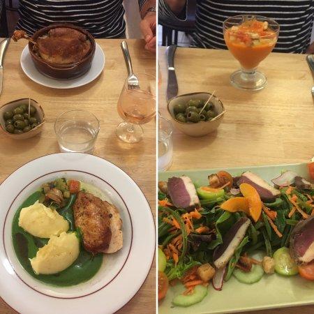 Great food at Le Trivalou