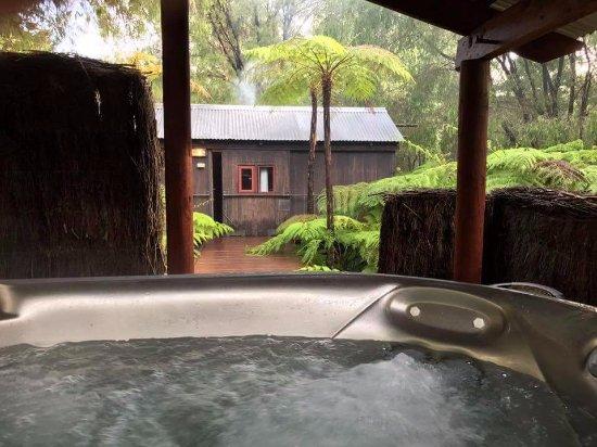 Pemberton, Australia: Jacuzzi Hot tub at 38degrees