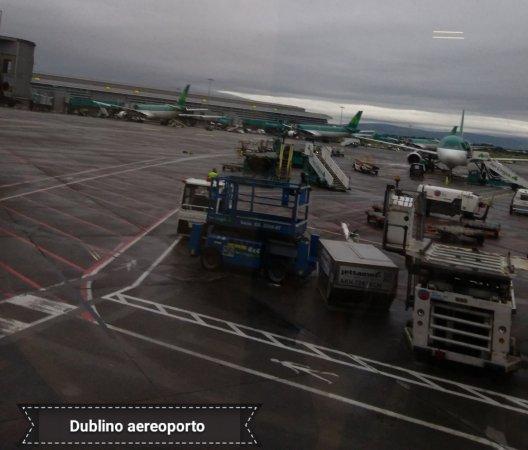 Condado de Dublín, Irlanda: Aereoporto Dublino con la flotta Aer Lingus