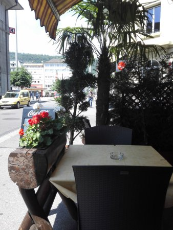 Biel, Szwajcaria: la terrasse