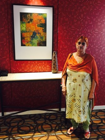 Hinjewadi, India: Fun times with mom