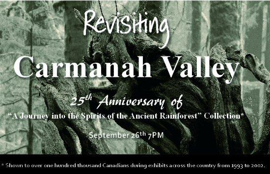 Campbell River, Canada: September Event: Revisiting Carmanah Valley