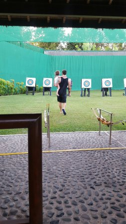 Club Med Bali: Archery day
