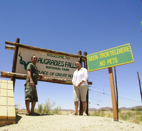 Augrabies Falls National Park, South Africa: ...we've arrived !