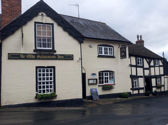 Weobley, UK: Village Pub