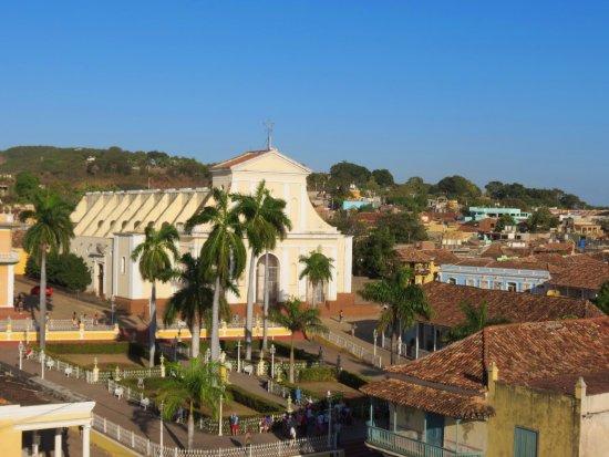 Iglesia Parroquial Mayor del Espiritu Santo : Храм Святого Духа. Вид со смотровой площадки.