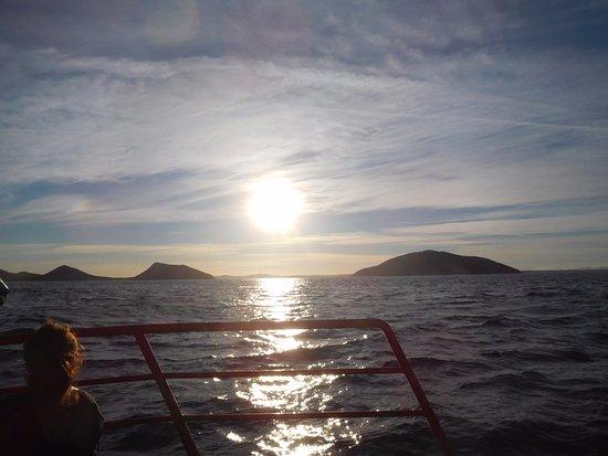 Nelson Bay, Australien: sun setting