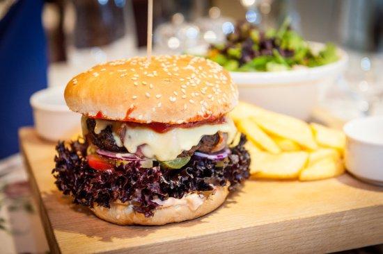 Our famous Hamburger