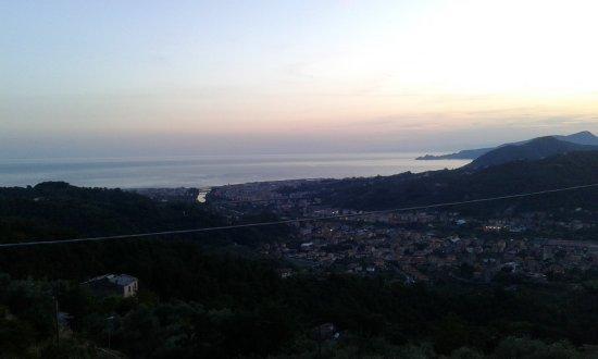 Cogorno, Italië: vista dalla terrazza panoramica