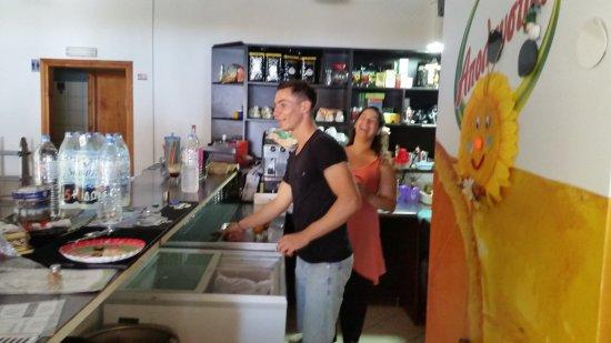Sougia, Grecia: ERONTAS-DIKTAMO cafe-snack Bar