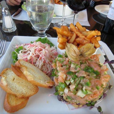 Restaurant Poissonnerie Escoumins: mon repas delicieux