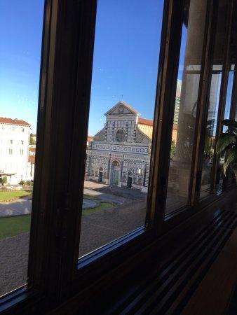Hotel L'Orologio : vista dalla sala colazione