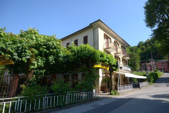 Pracchia, Italie : l'hotel da fuori