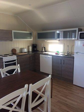 Troms, Norway: Das Apartment ist sehr gross und modern eingerichtet
