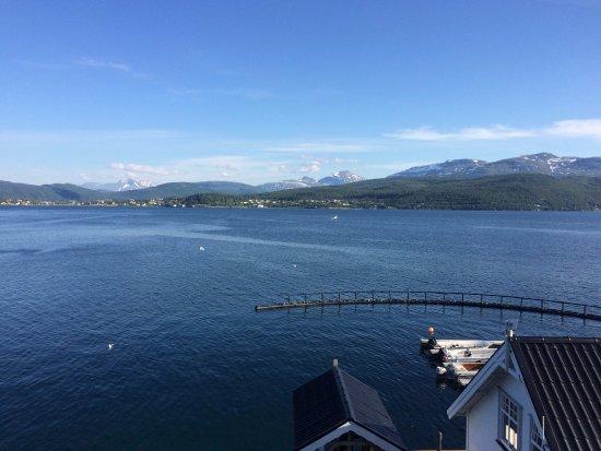 Troms, Norway: Aussicht vom Balkon