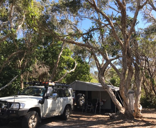 Noosa North Shore Beach Campground: We had a great 4 nights in the unpowered section of the park.  Very relaxing time for mid Aug.