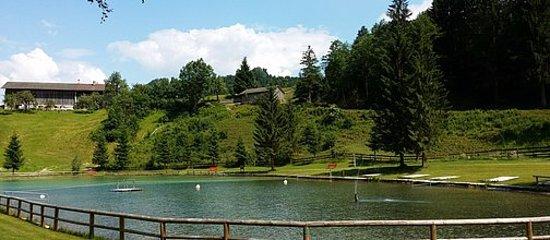 Thiersee, Austria: LIEGEWIESEN!