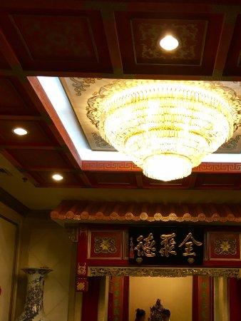 Qianmen Quanjude Roast Duck Restaurant: Restaurant is op 4e verdieping
