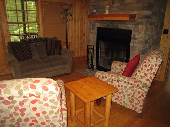Pickens, Νότια Καρολίνα: Cabin #3 great room