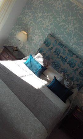 Near Sawrey, UK: our bedroom