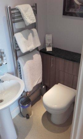 Near Sawrey, UK: Our bathroom