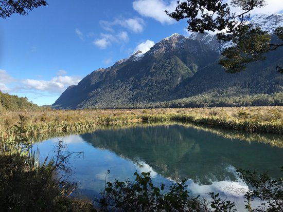 Fiordland National Park, Nowa Zelandia: Mirror Lakes Walk