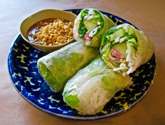Mattawan, MI: A side: Goi Ouon (Shrimp Summer Rolls) $6.50