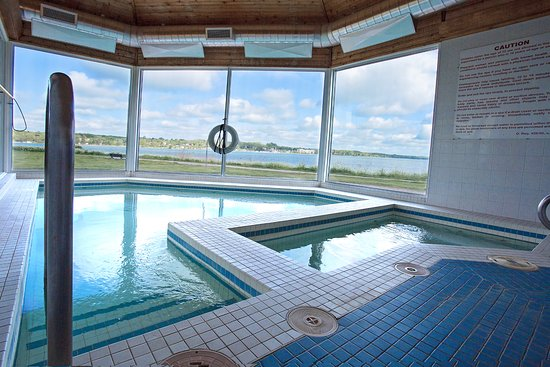 Owen Sound, Kanada: Whirlpools with a beautiful view