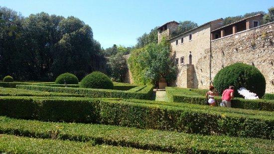 San Quirico dOrcia, Italie : Horti Leonini