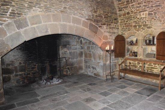 Hambye, Francia: Die Küche der Mönche.