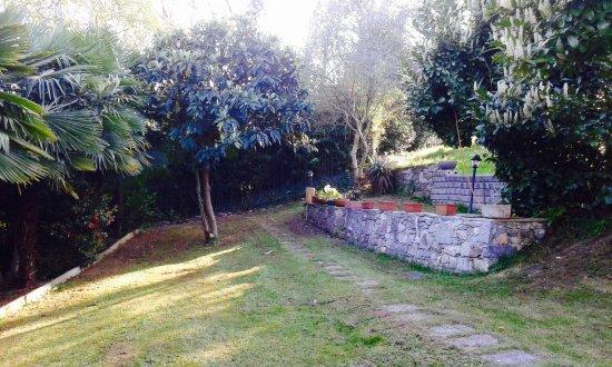 Nebbiuno, Italien: back garden