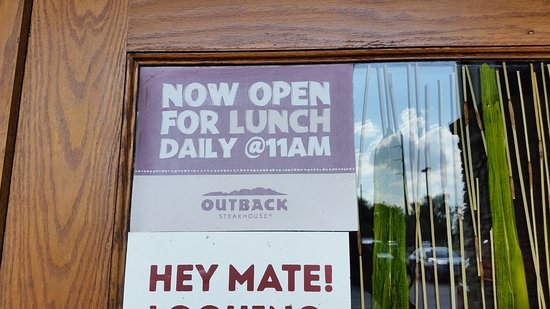 Clive, IA: Open for lunch!