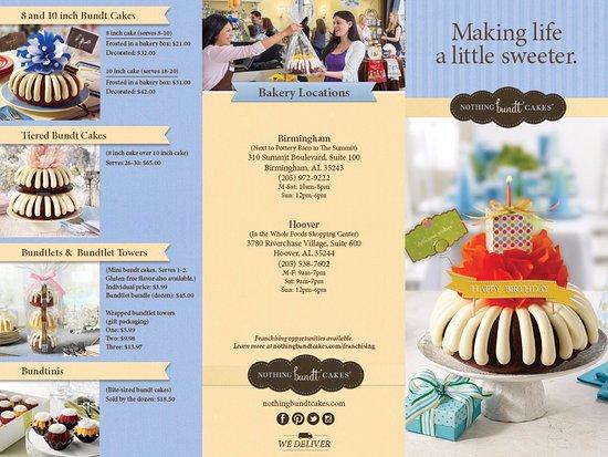 Bundt Cake Summit