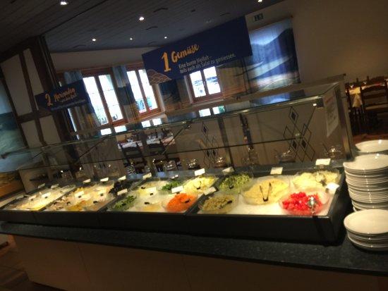 Liebefeld, Suiza: Nebst Fleisch, viiiel feine Vegiprodukte