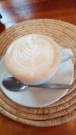 Darling, Sør-Afrika: Lovely and hot cappuccino