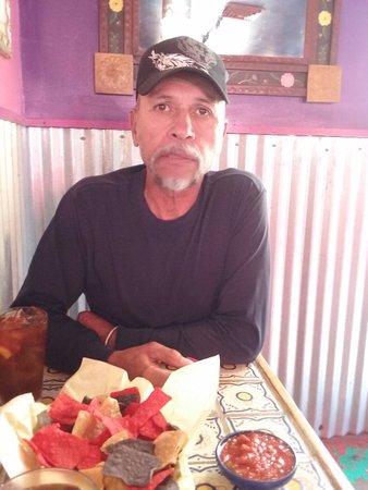El Prado, Нью-Мексико: Fresh salsa!