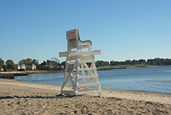 Fairfield, Коннектикут: Lifeguard chair