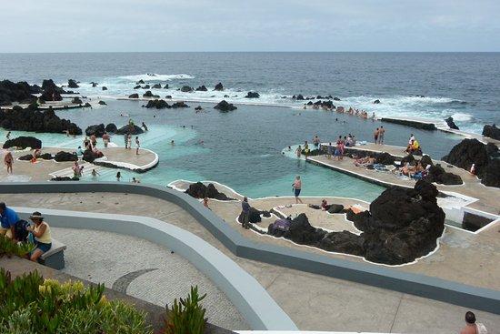 Porto Moniz Natural Swimming Pools: Bassin principal