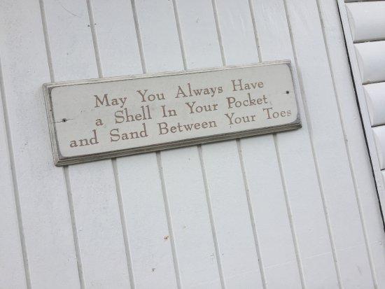 West End Village, Anguilla: Sign