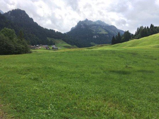 Bizau, Austria: Village where restaurant is located