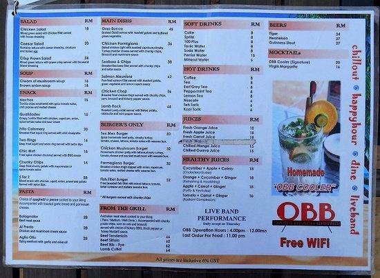 Kijal, Malasia: Oasis Beach Bistro