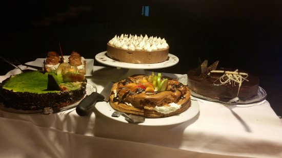 Minos Mare Royal: Some of the many desserts