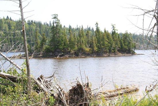 Temiscouata-sur-le-Lac, Canadá: Le lac Rond
