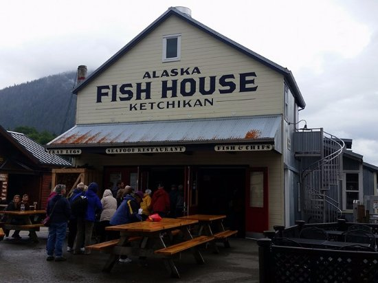 Fish house picture of alaska fish house ketchikan for Aaa fish house