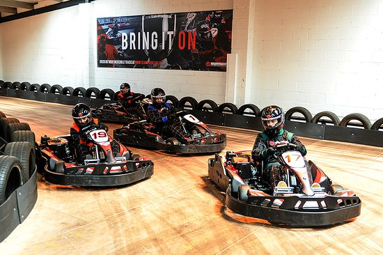 ‪TeamSport Indoor Karting Newcastle‬