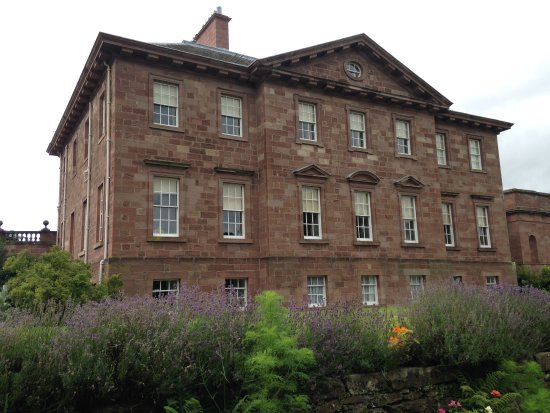 Berwick upon Tweed, UK: View of Paxton House from the gardens.