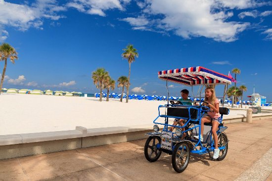 Hyatt Regency Clearwater Beach Resort & Spa: Fun Ride Rentals located below the hotel.  Paddleboards, Bikes, Segways are all available to ren